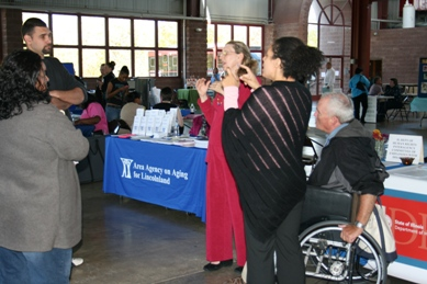 More than 600 persons attended the DRS Job Fair and Disabilities Expo in Spfld.