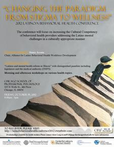 2012 Latino/A Behavioral Health Conference Flyer