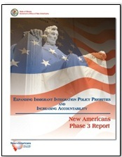 Front Cover of New Americans Phase 3 Report