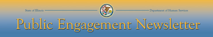 Public Engagement Newsletter logo