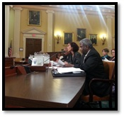 Secretary Saddler Testifies