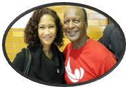 Secretary Michelle R.B. Saddler and Secretary of State Jesse White
