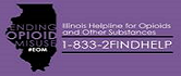 Illinois Helpline for Opioids and Other Substances 1-833-234-3643