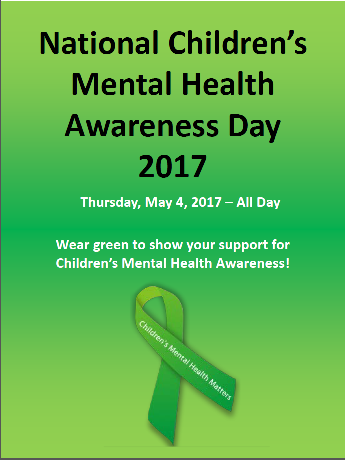 idhs national children�s mental health awareness day 2017