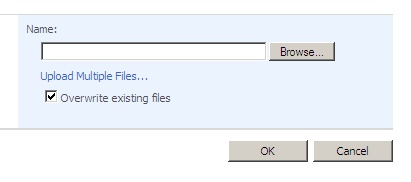 Upload Single Document screen
