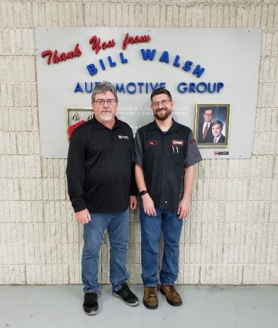 Andy with Bill Walsh from Bill Walsh Automotive Group