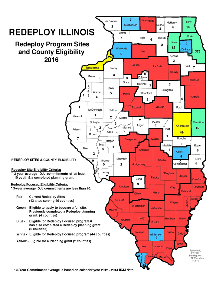 redeploy program sites and county eligibility 2016