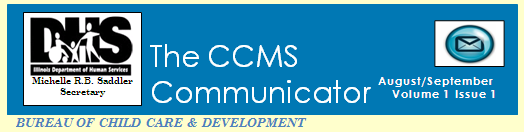 Banner for the CCMS Communicator