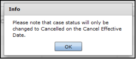 IDHS: Cancel a Case in the Future