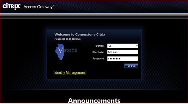 IDHS: VStone and Citrix installation tutorial